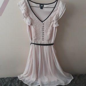 H&M Cute Dress With Arm Ruffles